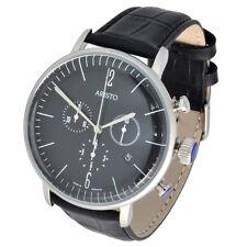 Aristo Bauhaus Herren Chronograph Model 4H151 schweizer Ronda Uhrwerk 5ATM