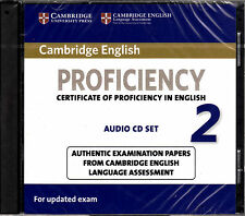 Cambridge English PROFICIENCY 2 CPE Audio CD Set for Updated Exam @NEW & SEALED@