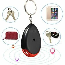 LED Key Finder Lost Locator Keyring Keychain Whistle Sound Beeping Control Torch