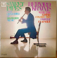 BERNARD KRAINIS: Sweet Pipes 5 Centuries of Recorder Music-NM1963LP MONO