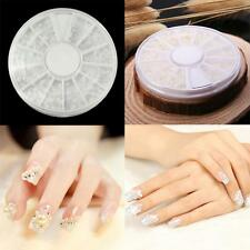 Manicure Decoration Pearl Acrylic Glitter 3D Nail Art Tips