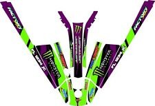 Kawasaki 550 SX stand up 550sx jet ski   SEMI CUSTOM GRAPHICS KIT