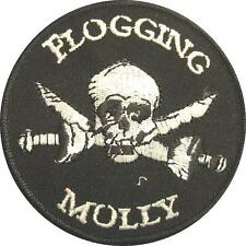 FLOGGING MOLLY AUFBÜGLER / EMBROIDERY PATCH # 5 / AUFNÄHER