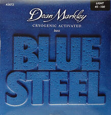 Dean Markley 2672 Blue Steel BASS Guitar Strings 45-100 lite gauge
