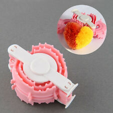 1x  Heart-shaped Essential Pom Pom Maker For Kid's Clothing Knitting Loom Yarn