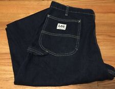 Vintage Lee Carpenter Scovill Zipper Denim Pants Jean. Size 32 x 26.5