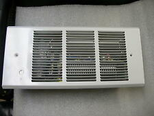 FAN FORCED ELECTRIC WALL HEATER 120 VOLT 50CFM WHITE