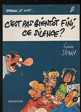 JANNIN. Germain et nous 2. C'est pas bientôt fini ce silence. Dupuis EO 1981