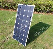 100 Watt 100W 12V 12 Volt Flexible SUNPOWER Solar Panel RV Boat Marine Battery