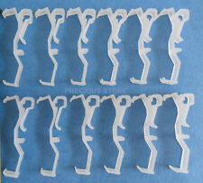 1 Dozen 2 1/2 Inch Valance Clips For Horizontal Faux wood & Wood Blind Parts 2.5