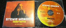 "STEVIE WONDER ""POSITIVITY"" 2005 UK PROMO CD SINGLE"