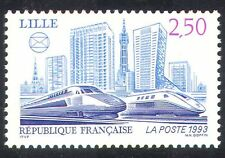 France 1993 Trains/Locomotives/Rail/Railways/Transport/TGV/Eurostar 1v (n32123)