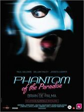 Affiche 40x60cm PHANTOM OF THE PARADISE 1975 Brian De Palma R2014 NEUVE