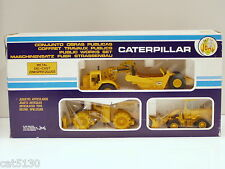 Caterpillar Public Works Set #2 - 631D, 825B, 920 - 1/50 & 1/70 Joal #351 - MIB