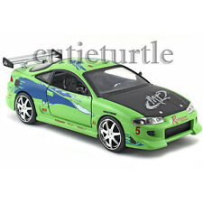Jada The Fast and Furious 2001 Brian's 1995 Mitsubishi Eclipse 1:24 97603 Green