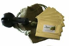 NATURAL CAR AIR FRESHENER-8 Scented Pads OF ORGANIC CEDARWOOOD & Diffuser
