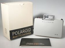 POLAROID MODEL 210 LAND CAMERA IN BOX