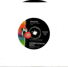 "CREEDENCE CLEARWATER REVIVAL - COMMOTION - PROMO 7"" 45 RECORD 1969"