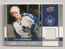 LANNY McDONALD 2009-10 UD GAME JERSEY EDITION GAME USED JERSEY