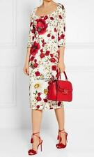 Dolce Gabbana Floral Print Dress UK10 IT42 Authentic