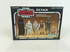 replacement vintage star wars empire strikes back yellow 6-pack box six pack