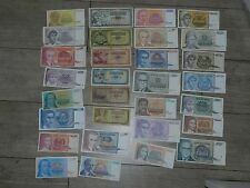 Yougoslavie - Lot de 30 Billets DIFFÉRENTS - 1968 / 1994  - TOP !!!!