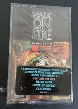 WALK ON FIRE Music Cassette BLIND FAITH New 1989 Free Shipping SEALED