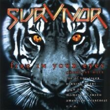 SURVIVOR - FIRE IN YOUR EYES-GREATEST HITS  CD  18 TRACKS HARD ROCK BEST OF NEU