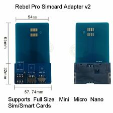 Mini Micro Nano to Full SIM Adapter Converter For SIM / Micro SIM / Nano SIM