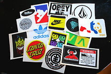 10 Assorted Skate/Ski/Snow Stickers! (CHOOSE YOUR OWN BRANDS!)