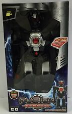 DELUXE SUPER WALKING FUSION ROBOT TOY - BLACK