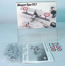 Testors 1/48 scale~   Nieuport Type 17C.1 WWI Military Aircraft Model~ ~ MIB*