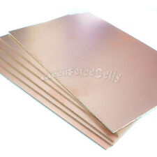 5x Copper Clad Laminate Circuit Boards FR2 PCB Single Side 12cmx18cm 120mmx180mm