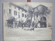 66) Org. Bufa Foto ca. 1917/18 Auf dem Vormarsch zur Piavefront Italien