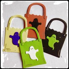 Trick Or Treat Bags Totes For Halloween Samhain Wiccan Pagan Party Die Cuts