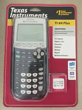 NEW SEALED Texas Instrument TI-84 PLUS Graphing Calculator Free Shipping