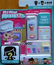 *My Mini Mixie Q's* CUPCAKE BAKER PACK SET- In Hand!!