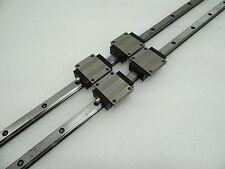 LM Guide Used SGL15HTE+1000mm NB Japan HSR15A Type THK Rusted 2Rail 4Block