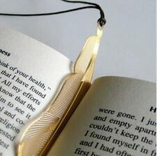 YO CA Exquisite golden animal feather bookmark fiction magazine office supplies