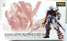 BANDAI C3 Expo LIMITED RG 1/144 GUNDAM ASTRAY RED FRAME PLATED Ver. MODEL KIT