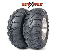 "Set of 2 ITP 25"" ATV UTV Tires Mudlite Pair 25x11-10 6 Ply"