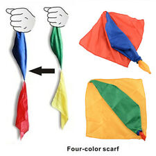 New Change Color Silk Scarf For Magic Trick Props Tools Toys Randomly