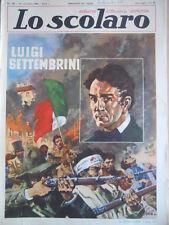 Lo Scolaro n°39 1961  - Rivista fumetti  [G393]