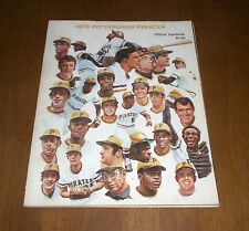 1973 PITTSBURGH PIRATES OFFICIAL YEARBOOK