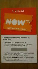 NOW TV 6 MONTHS ENTERTAINMENT PASS - SKY/PLEX/IPTV/CHANNELS