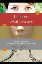 Become What You Are : Spiritual Formation According to the Sermon on the...