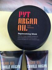 BRAND NEW *PYT ARGAN OIL HAIR CARE SET, INCLUDES MASK, SHAMPOO, CONDITIONER*