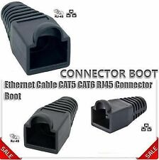 Ethernet RJ45 Cable Boots CAT5 CAT6 Connector Boot Plug Cover Cap (Pack 200 Nos)