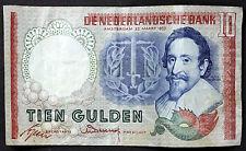 1953 Netherlands 10 Gulden ~ P85 Prefix AMH