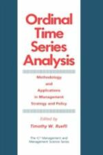 Ordinal Time Series Analysis: Methodology and Applications in Management Strateg